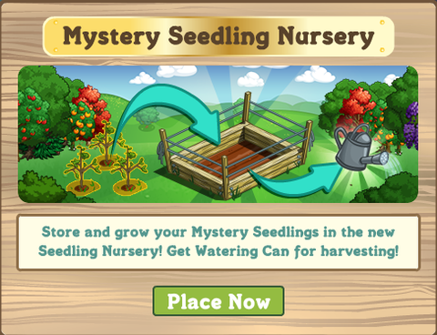 1 Mystery Seedling Nursery!