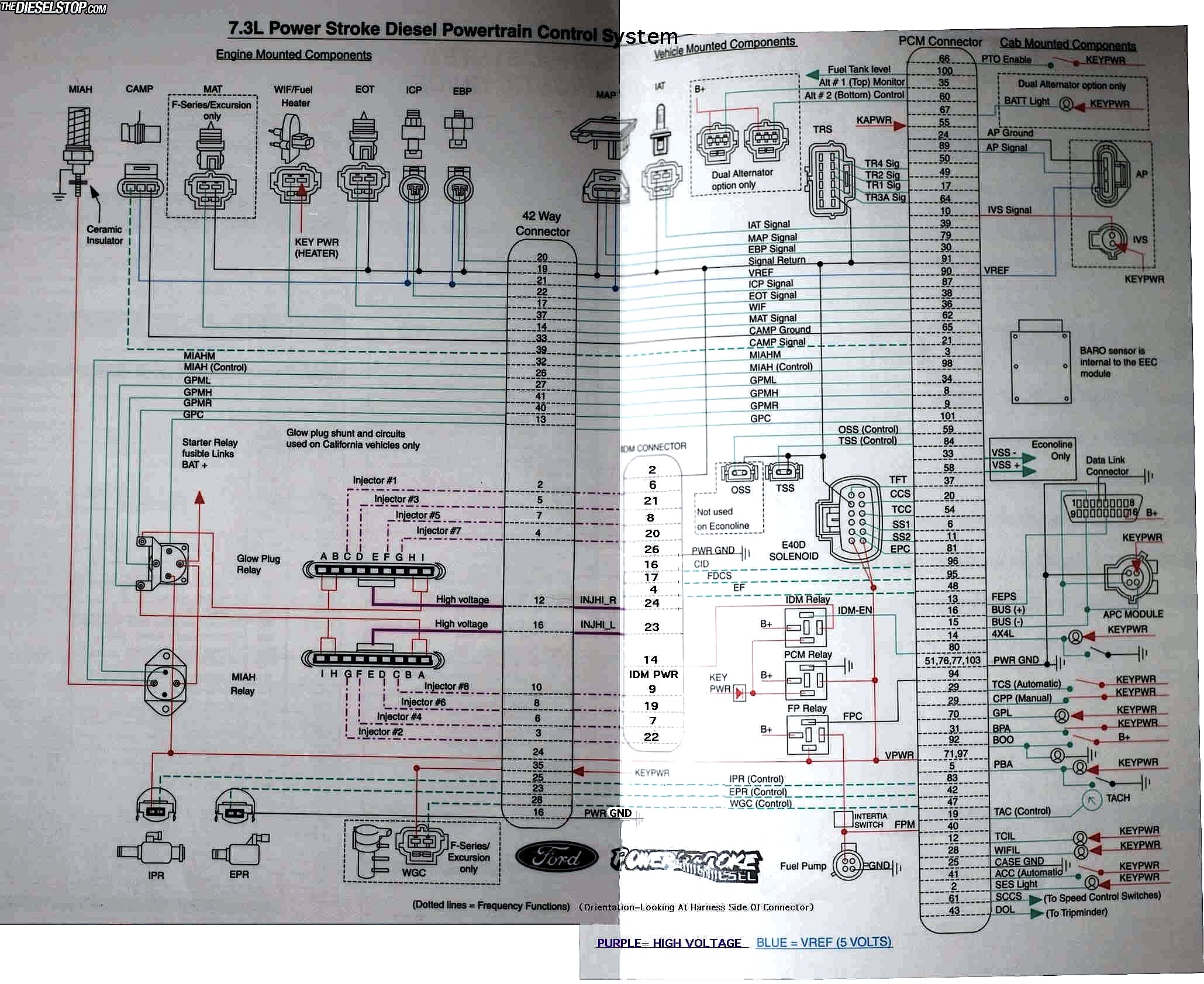 f250 7 3l wiring diagram with 1202715 Missing Bad And Lost Power 8 on 2002 Ford Powerstroke Wiring Diagram furthermore 7 3l Idi Glow Plug Harness further Glow Plug Wiring Diagram likewise Airintakeheaterplug likewise 7 3 Oil Pump Location 2008.