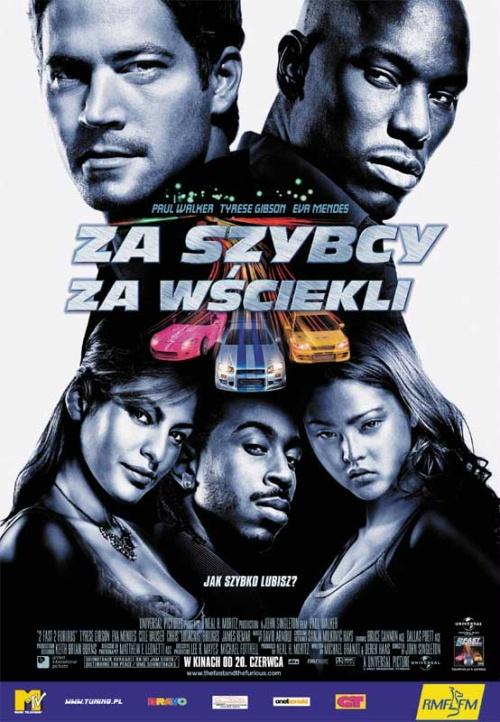 Za szybcy  Za Wściekli / 2 Fast 2 Furious (2003) DVDRip Lektor Pl
