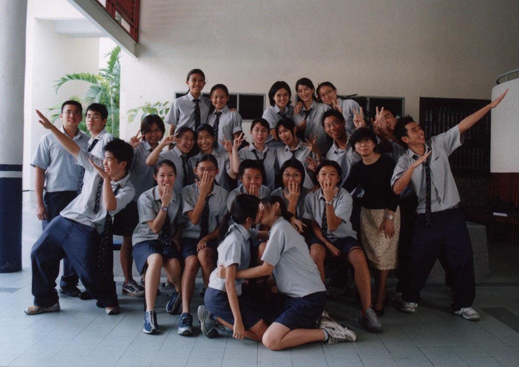Anime School Girls Kissing in Class