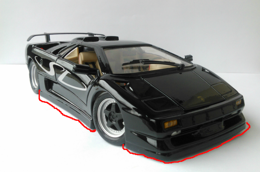 Interesting Fact About Lamborghini Diablo Sv By Maisto Diecast