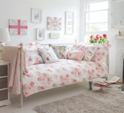 Slaapkamer roze grijs stijlvolle ruimten slaapkamer ikea - Roze kleine kamer ...