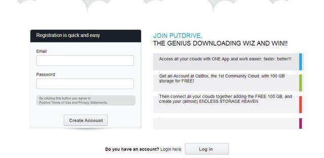 Nhận ngay 100 GB lưu trữ miễn phí tại PutDrive 12370277