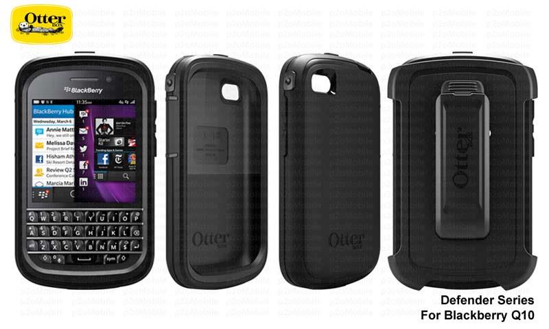 OTTERBOX DEFENDER BLACKBERRY Q10 Z10 SAMSUNG S3 S4 S5