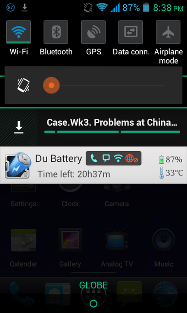 Help removing continuously downloading file from status bar