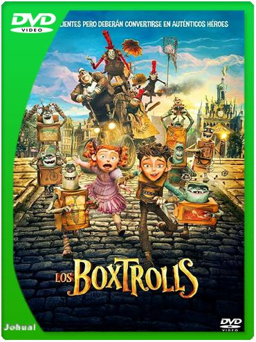 Los Boxtrolls (2014) DVDRip Español Latino