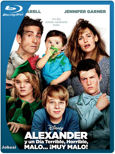 Alexander y un Día Terrible, Horrible, Malo… ¡Muy Malo! (2014) BRRip 1080p Español Latino