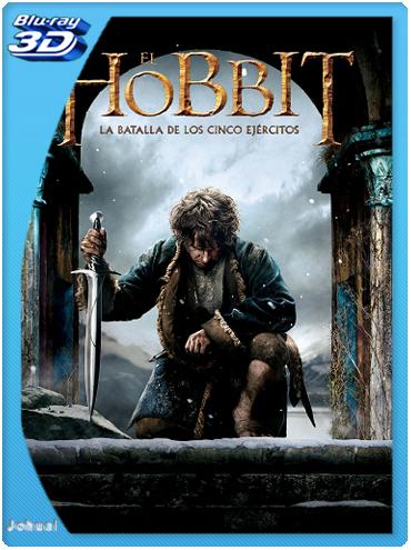 El Hobbit: La Batalla De Los Cinco Ejércitos (2014) 3D SBS BRRip 1080p Español Latino