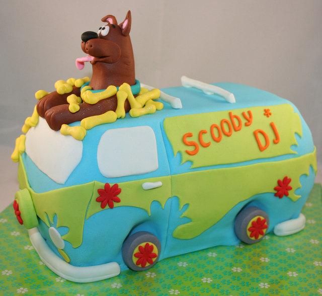 scooby doo taart Scooby's Mystery Machine (Pagina 1)   Taarten Parade  scooby doo taart
