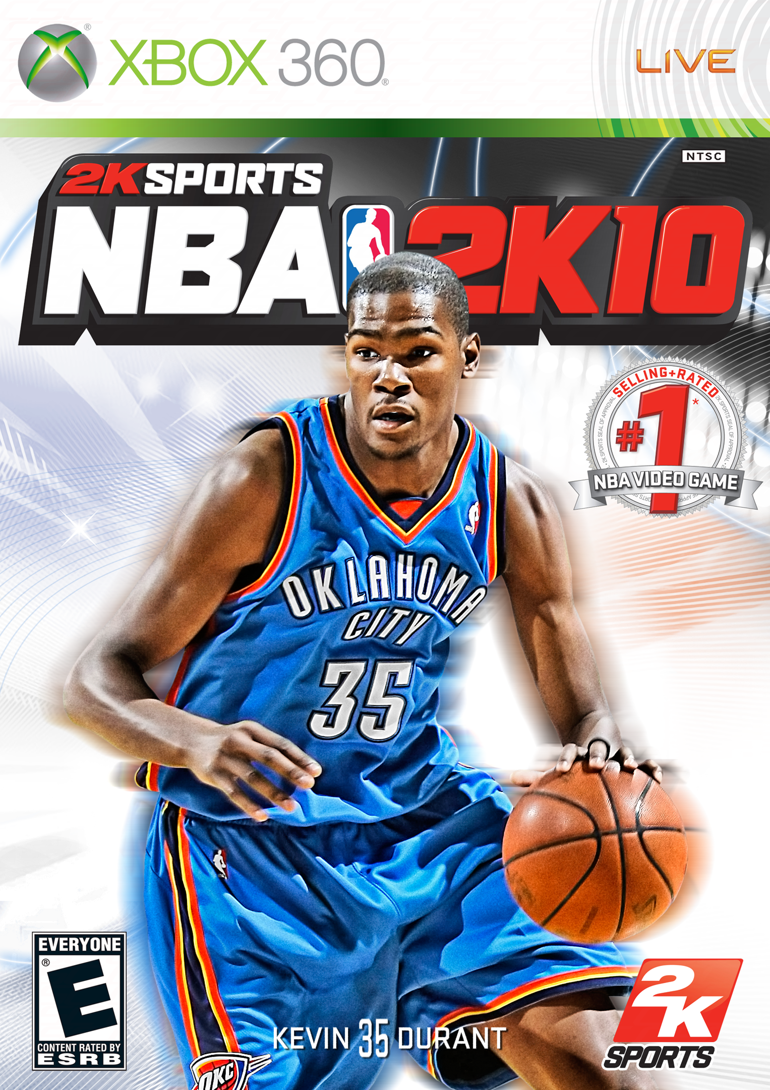 Kevin Durant 2K10 Cover