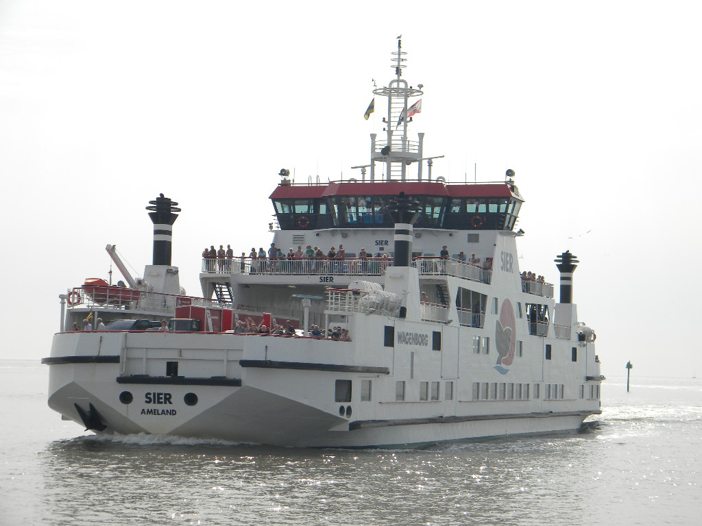 De SIER nadert de veerdam van Ameland, 7 augustus 2009: https://kustvaartforum.com/viewtopic.php?t=86&start=232
