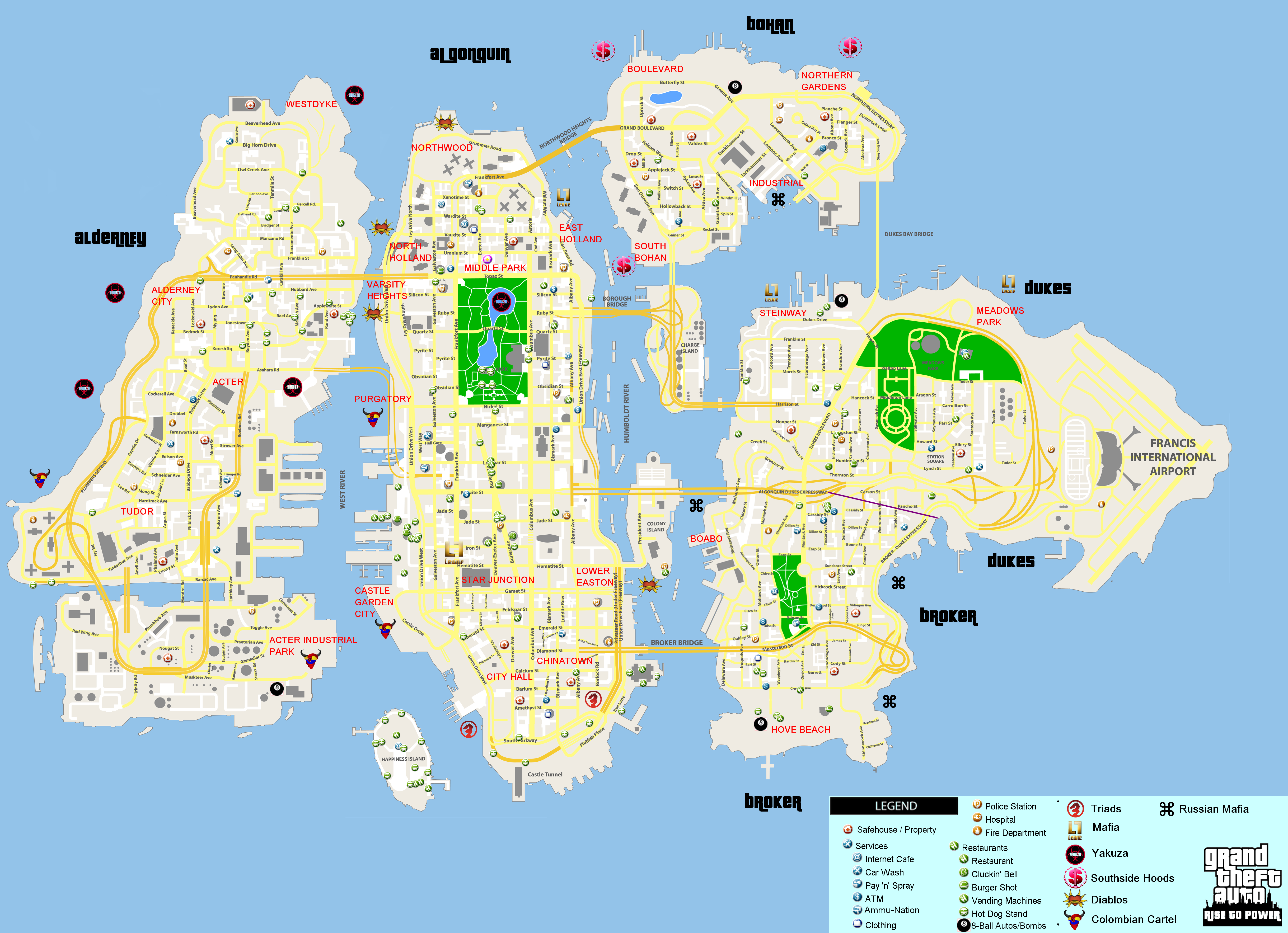 GTA 4 ATM Map http://roleplayerguild.com/showthread.php?53213-Grand-Theft-Auto-Rise-to-Power