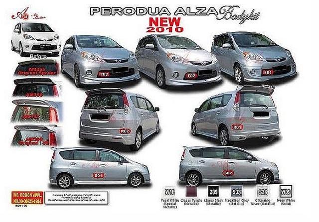 Perodua ALZA bodykits  - Page 3 4181152