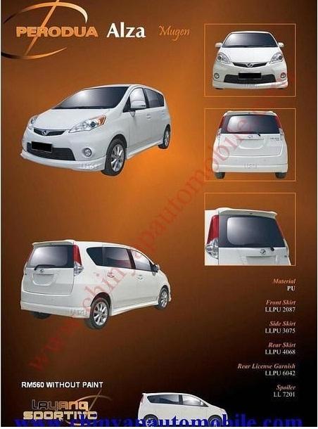 Perodua ALZA bodykits  - Page 3 4181157