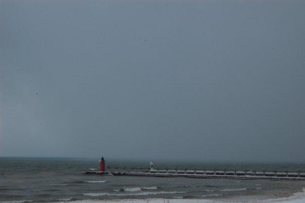 Snow Lake Effect Michigan - Gennaio 2010 4331257
