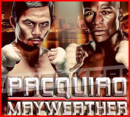 Pacquaio-Mayweather fight this coming May 2012