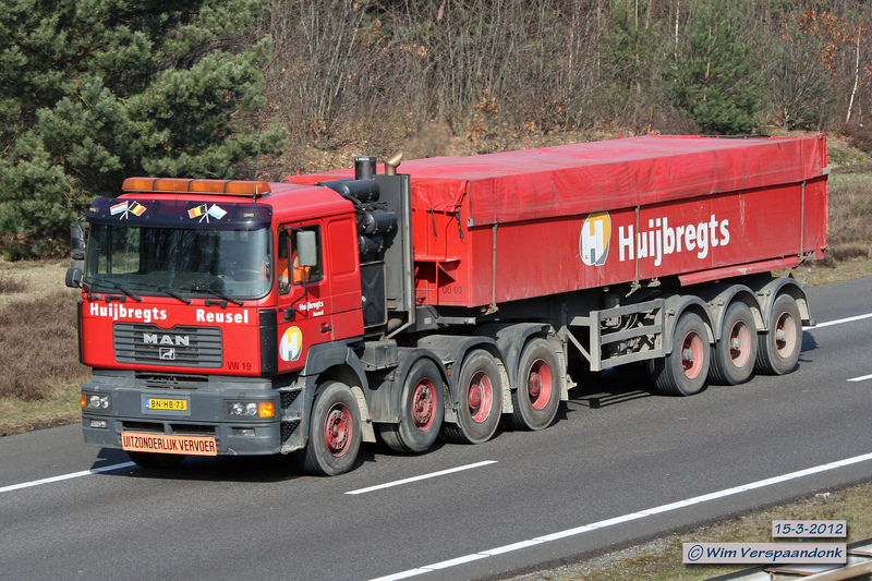 Garage Huijbregts Reusel : Transportfotos u toon onderwerp huijbregts reusel