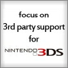 Nintendo E3 Bingo!! FocusOn3rdParty3DS