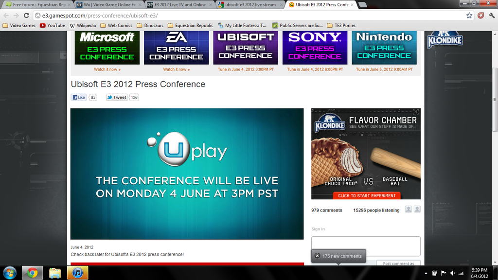 Official E3 2012 Discussion Thread - Page 3 Uplay