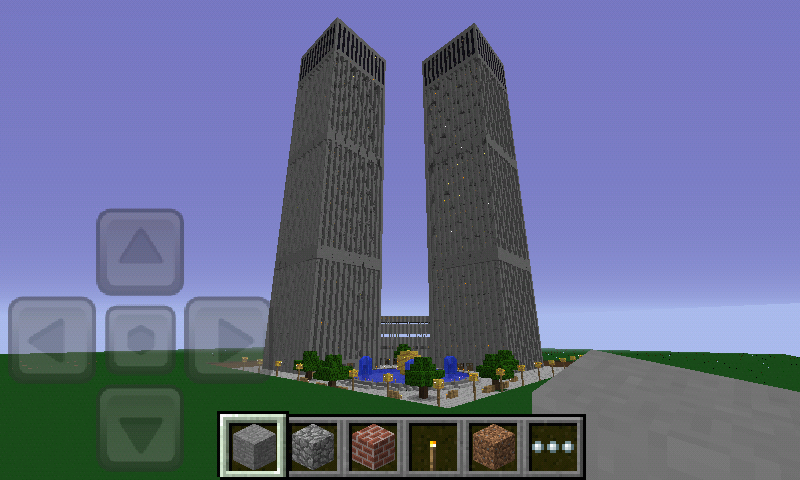 World Trade Center Pe Mcpe Maps Minecraft Pocket Edition